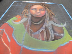 DSCN0778 (marathonwil) Tags: streetart art festivals sanrafael chalkart madonnari italianstreetpainting carnevaledivenezia amberlong italianstreetpaintingmarin everylifefoundationforrarediseases