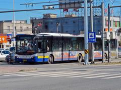 [Buses in Beijing] Youngman Neoplan JNP6180G-1 BPT #B94431 Line BRT3-Ltd. at Dongsanqi (tonyluan1990) Tags: beijing  publictransport brt bendybus busrapidtransit  articulatedbus   dieselbus  centroliner  jnp6180g1 beijingpublictransportholdingsltd    youngmanneoplan beijingpublictransport