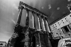 The Temple Of Saturn, Rome. Canon EOS M.
