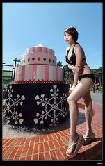nEO_IMG__MG_9935 (c0466art) Tags: morning light portrait black color water canon pretty play bright outdoor good gorgeous south taiwan showgirl bikini figure attractive charming activity kaoshiung 1dx c0466art