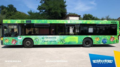 Info Media Group - Sberbank AD, BUS Outdoor Advertising, Banja Luka 07-2015 (3)