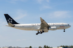 N342AV (amcripps57) Tags: make airport aircraft airbus airlines a330 staralliance avianca kmia n342av