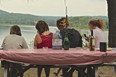 In Madawaska (Sylvie Poitevin Photography) Tags: ontario table log cabin picnic madawaska