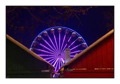 Bleu nuit (Rémi Marchand) Tags: dijon grande roue nuit lumières couleurs marché noël canon 5d mark iii