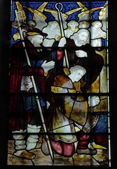 Adoring Shepherds & Angels (Aidan McRae Thomson) Tags: southwell minster cathedral nottinghamshire stainedglass window victorian kempe