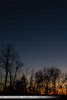Last light with first star over the trees without leaves on the ridgetop (John P Sullivan) Tags: johnpsullivan trees bluehour johnpaulsullivan landscape sunset iphone7plus athens firststar 45701 appleiphone kneebeau ohio lastlight iphone johnsullivan unitedstates usa