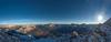 Valle d'Ampezzo (The freedom state of Jabamba) Tags: italia italy nikonitalia veneto cortina panorama pano panoramic faloria tofana dolomiti dolomite dolomites allaperto sun rays view spettacolo spettacular natura nature montagne mountains monti alpi alps nikon nikond750 nikkor nikontop nikonphotography iamnikon 2485mm 3200m