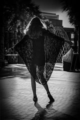 the tschador (sonofphotography) Tags: beautiful eyes glasses sonofphotography tsphotoart blackandwhite bw beauty portrait street fashion photo art hair jeans light shade leicam240 speedlight shadow