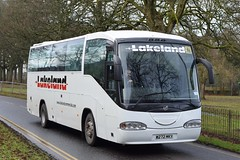 W272MKY  Lakeland Commercials, Kendal (highlandreiver) Tags: w272mky w272 mky lakeland commercials coaches kendal kirkby stephen cumbria irizar bus coach carlisle