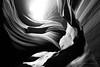 Untitled, Lower Antelope Canyon, Page, Arizona (jev) Tags: trielmar161821mm leicam8 bw sand wate abstract angle antelopecanyon ariziona arizona beautyinnature blackandwhite concept concepts conceptual design dunes light monochrome navaho page redrocks rocks sandstone wide