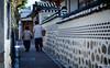 The narrow walk home (gunman47) Tags: asia asian bukchon east hanok korea korean rok republic seoul south village alley architecture home house housing long narrow photography street traditional walk 북촌한옥마을 서울 한옥 southkorea