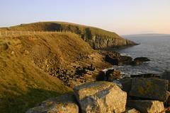 Knocklane (flxnn) Tags: atlantic coast cliffs green grass landscape rural water rock ireland sligo outdoor shore ocean mer paysage