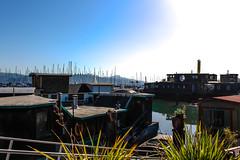Sausalito, San Francisco, California, USA (a_pixie) Tags: sausalito san francisco sanfrancisco california boathouse landscape canon canon700d