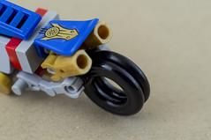 Nobu and his Honda Ahoudori (05) (F@bz) Tags: cyberpunk bike motorcycle lego wheel sf space scifi akira honda moc