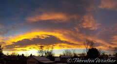 December 19, 2016 - A stunning sunset in Thornton. (ThorntonWeather.com)