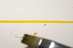 Yellow - Coldplay (SaYuMi-87) Tags: song yellow color colour coldplay line giallo ispiratodaunacanzone macromondays macro inspired by inspiredbyasong