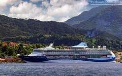 TUI Discovery (sminky_pinky100 (In and Out)) Tags: dominica cruiseboat cruise tui discovery vacation sea caribbean travel tourism landscape omot outside ship vessel mountains