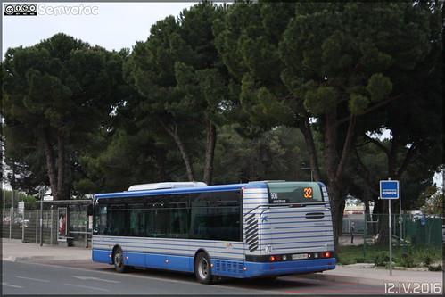 Irisbus Citélis 12 - Pays d'Oc Mobilités (Transdev) / Tam Montpellier 3M (Transports Alternatifs de Montpellier Méditerranée Métropole) n°906