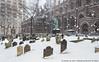 Snowy Trinity Church (20170107-P1072339) (Michael.Lee.Pics.NYC) Tags: newyork trinitychurch cemetery snow winter 2017 architecture lowermanhattan broadway rectorstreet flash olympus em5 markii mkii 1240mmpro28