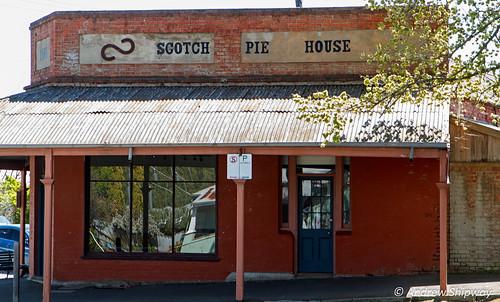 The Scotch Pie House, Maldon, Victoria.