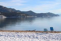 Beach chairs (quinn.anya) Tags: beachchairs snow sand laketahoe sandharbor