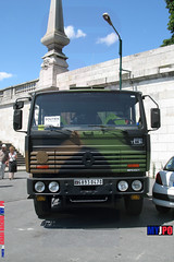 BDQJ09-4509 RENAULT G290 VTL (milinme.myjpo) Tags: frencharmy renault g290 vtl véhicule de transport logistique remorque rm19 trailer bastilleday