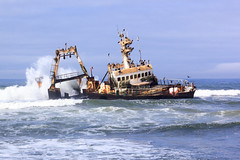 Zeila shipwreck (Ralph Apeldoorn) Tags: africa boat boot coast kust namibia scheepswrak schip sea ship shipwreck southernafrica wrak wreck zee zeila zeilashipwreck erongoregion namibië skeletoncoast