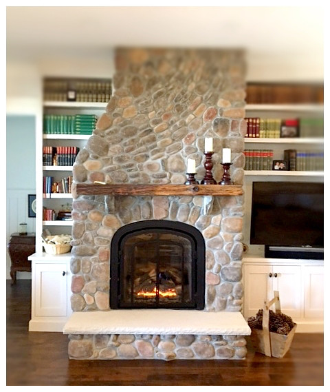 Mendota M-50 Greenbriar Direct Vent Fireplace. Chattanooga, Tn.