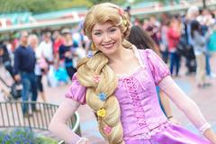 Rapunzelr (jodykatin) Tags: disneyland rapunzel facecharacter