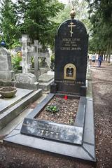 Serge Lifar's grave. Sainte-Geneviève-des-Bois Cemetery (Oleg.A) Tags: paris france grave îledefrance tomb cimetière saintegenevièvedesbois сemetery saintegenevièvedesboisrussiancemetery