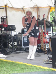 Little Miss 60 performs in the Paddock 9Jun15