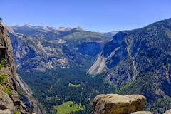 Mountain view (danielahd) Tags: california travel mountain mountains green nature rock forest nationalpark view valley yosemite fujifilm x100t