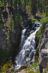 King's Creek Falls (James Matuszak) Tags: california trees water vertical creek waterfall rocks falls lassen lassenvolcanicnationalpark 2015 kingscreek kingscreekfalls