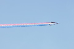 The Red Arrows over Medway (Sarah H Bennett) Tags: redarrows raf