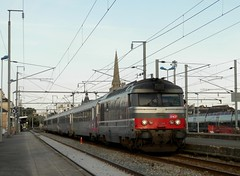 BB67554 - Ic 3854 (- Oliver -) Tags: train sncf corail bb67400 multiservice intercites bb67500 bb67554