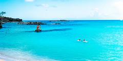 Stranded in paradise. (isaiahaquino808) Tags: ocean summer beach water swim landscape hawaii sand oahu waimea