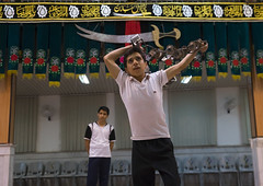 The Traditional Sport Of Zurkhaneh, Isfahan Province, Kashan, Iran (Eric Lafforgue) Tags: people men sport horizontal training photography persian wooden athletic asia exercise iran wrestling muslim islam performance ceremony middleeast competition persia bodybuilding chain indoors clubs ritual wrestler strength tradition activity orient kashan sufi sufism cultures 2people twopeople islamic kachan zurkhaneh shiite practising meel twomen exercising traditionalsport إيران onlymen иран colourimage イラン zourkhaneh irão isfahanprovince 伊朗 zurkhane muscularbuild houseofstrength nonwesternscript 이란 iran150644