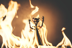 I am the god of hellfire! (3rd-Rate Photography) Tags: canon toy actionfigure 50mm florida satan devil jacksonville 365 timburton nightmarebeforechristmas neca toyphotography 5dmarkiii earlware 3rdratephotography
