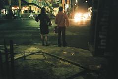 b2-1 (gustavo gpg) Tags: green azul night 35mm de mexico back streetlight ciudad fujifilm 40mm canonet stret