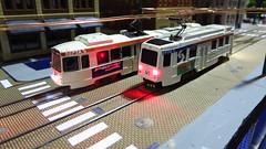 center city Modules @ East Penn traction show (ac_catenary) Tags: city railroad philadelphia subway model trolley ho catenary lrv