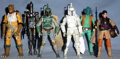 Hasbro - Black Series Bounty Hunters (Darth Ray) Tags: 6 star inch princess prototype armor boba wars bounty leia hunters hasbro fett greedo boushh ig88 organa bossk