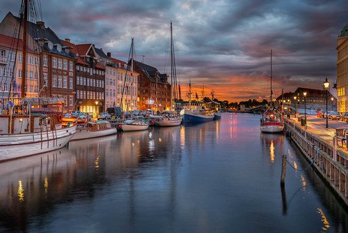 Nyhavn Just Before Sunrise by Jacob Surland, on Flickr