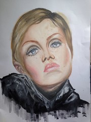 Another twiggy oil painting....