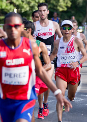 Pan Am Games Toronto 2015 Mens Marathon (thelearningcurvedotca) Tags: park city portrait people urban toronto ontario canada man motion color male men sports sport race speed fun outside outdoors person photo moving athletic healthy movement energy downtown highpark foto adult exercise action outdoor body marathon fast competition running games run event health photograph males strength recreation activity athlete workout jogging fitness runner endurance sprint jog panam challenge fit jogger active racer physical competitor compete 2015 panamgames briancarson thelearningcurvephotography wwwthelearningcurveca