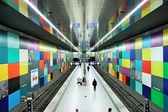Georg Brauchle Ring Metro Station - MÜNCHEN - GERMANY (Zana Suran) Tags: germany münchen deutschland metro ubahn metropolitan georgbrauchlering