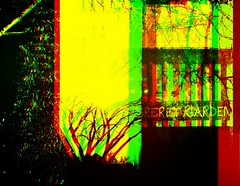 [ old iPad low-fi pseudo-psychedelic-anaglyph collage ] (Tremor Saint) Tags: collage film lowfi lomo supersampler colors green red secretgarden trees edit wtf texas black mourning