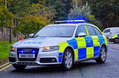 SN61EBD (firepicx) Tags: sn61ebd police scotlan scotland audi a4 avant 30 tdi quattro divisional roads policing unit rpu fettes hq lothian borders te11 e edrpu car blue lights emergency 999 uk british engine