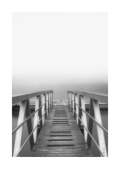 Calma, Soledad, Niebla... (Explored 26/01/2017) (protsalke) Tags: calm solitude fog bw monochromatic long exposure ndfilter 9stops quiet peace cold nikon blancoynegro light