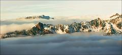 Floating peaks  -  Merry Christmas (Katarina 2353) Tags: alps france chamonix katarina2353 katarinastefanovic
