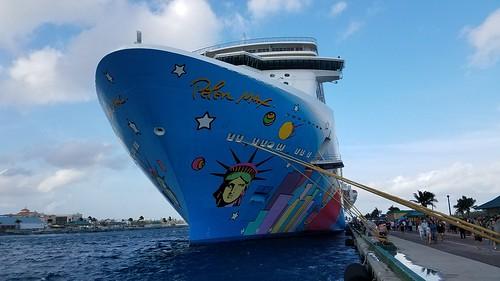 Norwegian breakaway in Nassau
